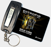 Gold Card and reader
